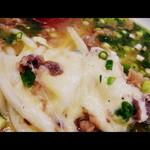 かかしうどん - 2012.9 チーズがたんまり