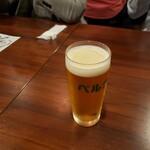 ワインバル ベルク - 生ビール