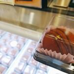 甘泉堂 - 生チョコレート大福。1個1個、個包装。