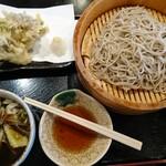 151960513 - 肉汁舞茸天もり・あいもり  ¥1,230(税込)