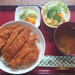 151969737 - ソースカツ丼定食