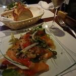 15197556 - 前菜:サーモンサラダ