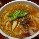 XI'AN - マーラー刀削麺:700円 (2012年10月)