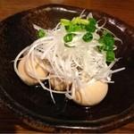 居酒屋 かもん - うずらの味付け玉子 ¥199