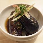 トンテキ食堂8 - なすの焼浸し(250円)