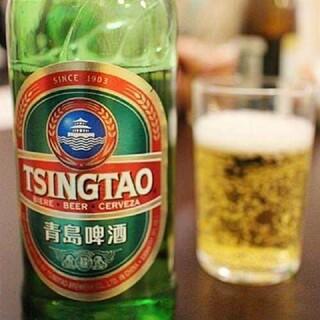 中華料理にぴったりの青島ビールをご用意。お好みの一杯で乾杯を