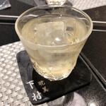 SHIMOMURA - ノンアルコール梅酒ソーダ割り…残念