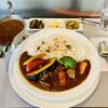 Papa's - 料理写真:本日のお勧めカレー、豚肉と7種野菜カレー