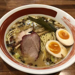 麺屋 悠 - 料理写真:味玉味噌そば
