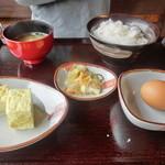 白卵懐 - 卵かけご飯