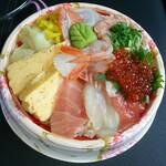 スーパー回転寿司 やまと - 特選海鮮丼(1380円)