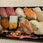 イトーヨーカドー - 料理写真:魚河岸握り 湊(みなと)10貫