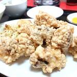 ハルピン - 料理写真:シナ天(鶏の中華風天ぷら)