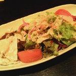 152769 - 博多長茄子と黒豚しゃぶしゃぶの胡麻葱サラダ
