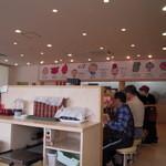 すし和歌丸 - 店内のカウンター