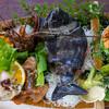 うに清 - 料理写真:2021.5 活魚料理船盛り