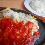 ジョイフル - チーズハンバーグランチ