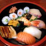 和泉屋 - 寿司セット(上)1575円(お昼のみ)