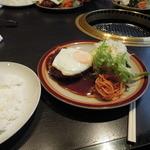 レストランくろんぼ - Aランチ(メンチカツ)