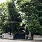 152011241 - 金王八幡宮 (金剛夜叉明王由縁) 風太くん、お気を付けください。