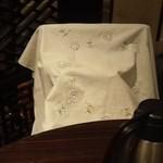 香港私菜 Repulse Bay - 荷物に布ナフキンを…気遣いが嬉しい~♪