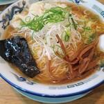 カナキン亭本舗 - 料理写真:ネギワンタン麺大