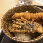 平次のおうどん - ミニ天丼