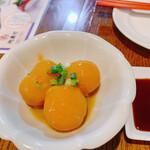 渋谷 道玄坂 肉寿司 - べっこう玉、この日の一番のヒット商品でした