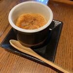 渋谷 道玄坂 肉寿司 - ほうじ茶のティラミス