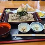 寿多庵 - 季節の天ざる蕎麦
