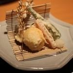 日本食 雅庭 - 季節の鮨会席「華」揚物