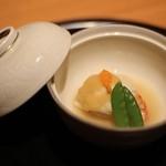 日本食 雅庭 - 季節の鮨会席「華」煮物