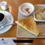 Cafe Place Mu - 2012.10.8 モーニング(全体)