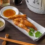 餃子バル - 鶏皮餃子