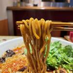 月世界 - コシのある太麺