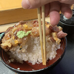 玄海寿司 - ご飯は2合です。