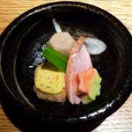 炙屋 - お通し(500円)