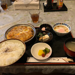 みやたや - カツ煮定食 800円