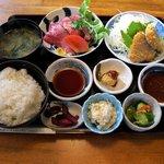 15205029 - 近江牛ローストとひれかつ膳