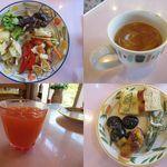 ルイジアナママ - 前菜&スープ&野菜ジュース