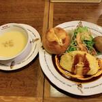 ラケル - KUKU餅もちチーズオムライスセット