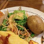 ラケル - サラダ、ポテト