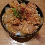 どんぶり茶屋 - 照り焼きチキン丼 1,080円