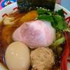 らーめん凛々 - 料理写真:凛々しい特製地鶏中華ソバ
