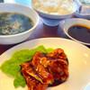 宮本屋 - 料理写真:鳥焼肉 味噌ダレドップリです