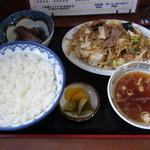 千華園 - 料理写真:いり豚定食