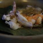 Okipurazahoteru - 海鮮味噌焼き