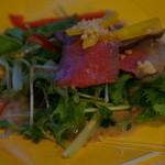 隠岐プラザホテル - 島根牛のカルパッチョ風