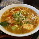 麺屋 次男坊 - 料理写真:限定 酸辣湯麺大盛 ¥850