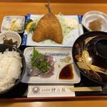 活魚料理仲の坂 - アジ好み定食